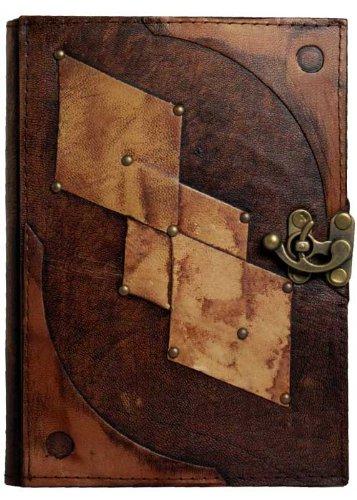 Diseño De brillantes En Un libro De Luxe-Diario con candado ...