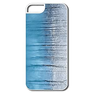 Durable Snow Pond Plastic Cover For IPhone 5/5s