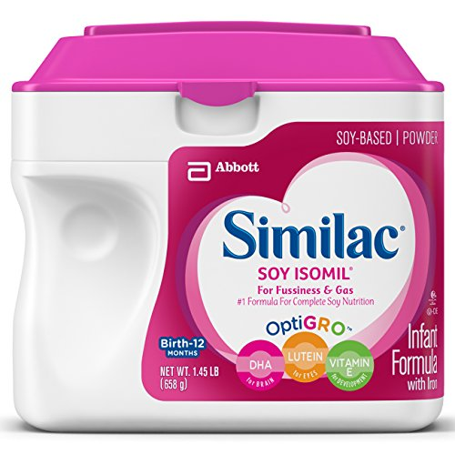 Similac Sensitive Isomil Soy Powder, 23.2 Ounce