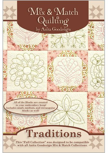 (Anita Goodesign Embroidery Machine Designs CD)