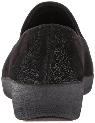 Shimmer Loafer Fitflop Womens Black Shimmer SuperskateTM Tassel Tassel SUPERSKATETM Loafer Shimmer qvZwpq