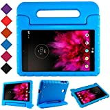 TIRIN LG G Pad 7.0 Kids Case – Light Weight Shock Proof Convertible Handle Stand Kids Case Cover for LG G Pad V400/V410 (LTE)/VK410/UK410/LK430 (G Pad F7.0) 7 Inch,Blue