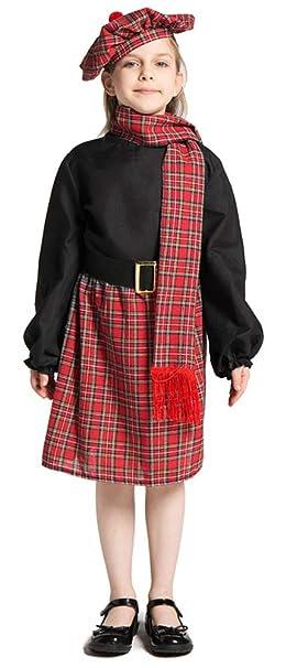 Amazon.com: Ugoccam - Disfraz de baile, diseño escocés ...