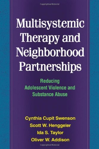 Download Multisystemic Therapy and Neighborhood Partnerships: Reducing Adolescent Violence and Substance Abuse Pdf