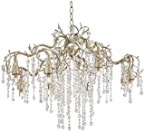 Possini Euro Branches 31″ Wide Silver Champagne Chandelier