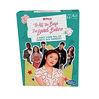 Hasbro Games to All The Boys I've Loved Before Board Game; Inspired by The Netflix Original Movie; Party Game Ages 14 and Up