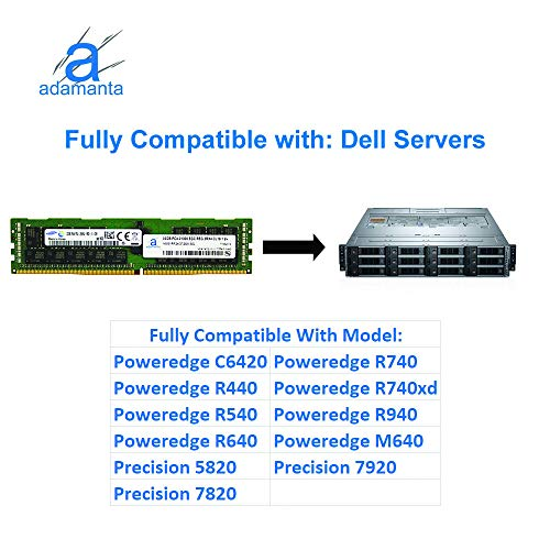 Adamanta 32GB (1x32GB) Server Memory Upgrade Compatible for