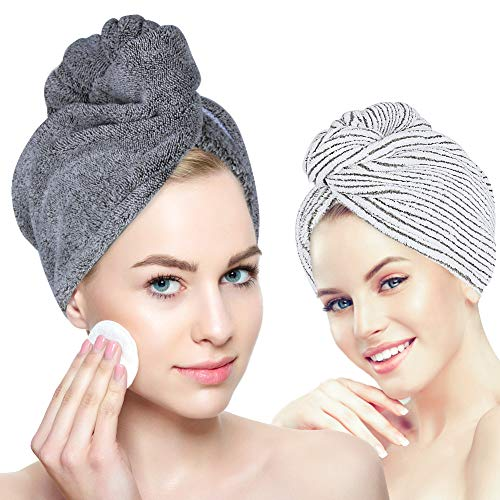 Organic Bamboo Hair Towel