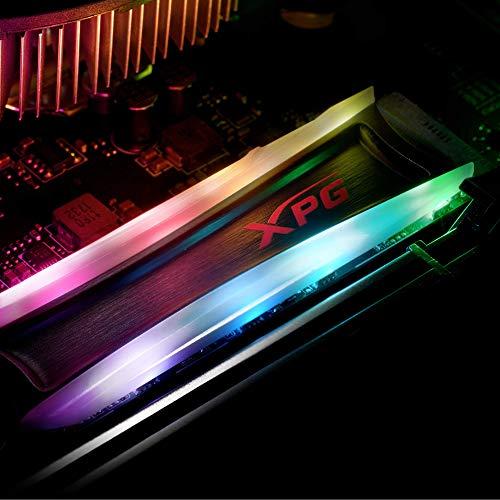 XPG S40G 2TB RGB 3D NAND PCIe Gen3x4 NVMe 1.3 M.2 2280 Internal SSD (AS40G-2TT-C)