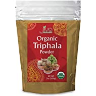 Jiva USDA Organic Triphala Powder 100% Pure - 7 Ounces (Nearly Half a Pound!)