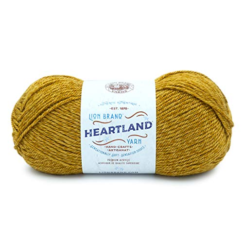 Lion Brand Yarn Heartland Yarn, Canyonlands