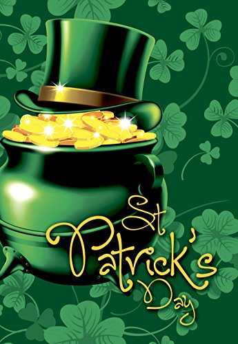 decorative patrick day green double