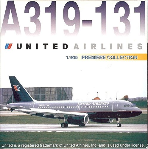 Dragon Wings 55046 United Airlines Airbus A319-131 1/400 Scale Diecast Model (Airlines Dragon United)