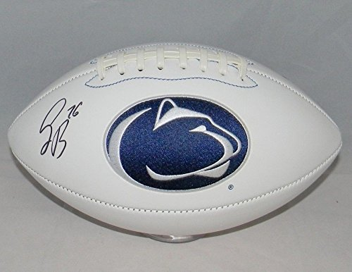 - Saquon Barkley Signed Autographed Penn State Nittany Lions Logo Football JSA Certified