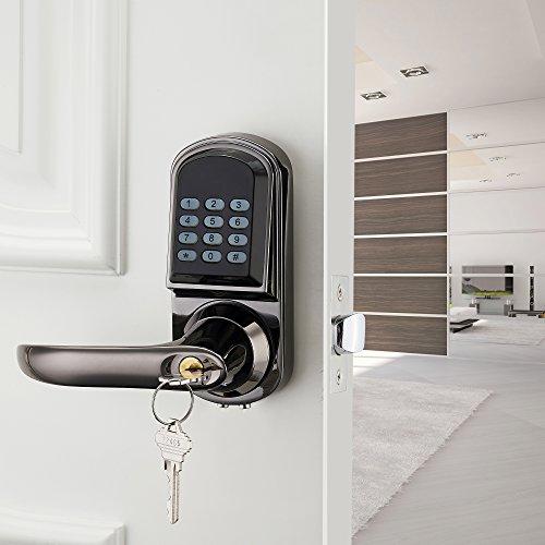 Haifuan Bluetooth Electronic Keyless Code Door Lock Unlock