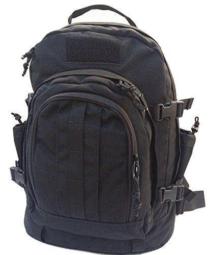 Fire Force Expedition II Pack Tactical Backpack School Daypack Made in USA (Black)