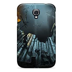 Special Design Back Winged Warriors Phone Case Cover For Galaxy S4