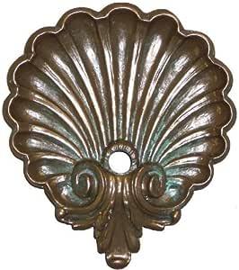 Pentair 5820404 WallSpring Brass Aegean Rosette Decorative Accent
