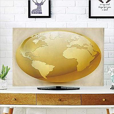 SINOVAL - Funda para televisor LCD, multiestilo, diseño de Iconos ...