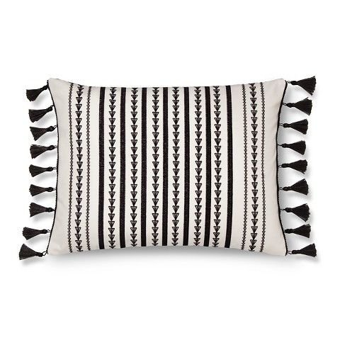 Fringe Throw Pillow (Maison Decorative Pillow (14