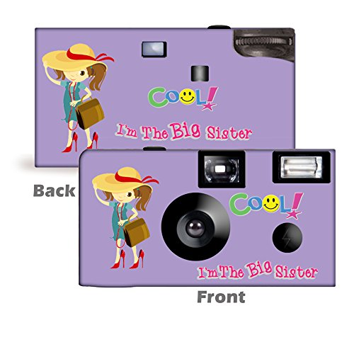 I'm The Big Sister Camera and Photo Album Set -- in LAVENDER