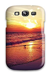 GoldenArea Awesome Case Cover Compatible With Galaxy S3 - Iphone Beach