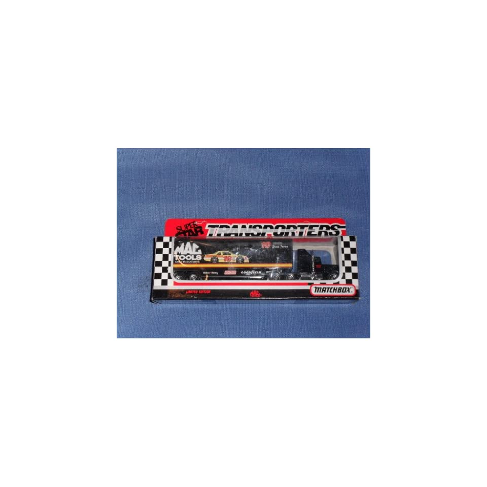 1992 NASCAR Matchbox Super Star . . . Ernie Irvan MAC Tools Distributors Transporter Diecast Hauler . . . Limited Edition  Sports Related Trading Cards  Sports & Outdoors