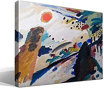 Cuadro Canvas Paisaje romántico de Vasili Kandinski
