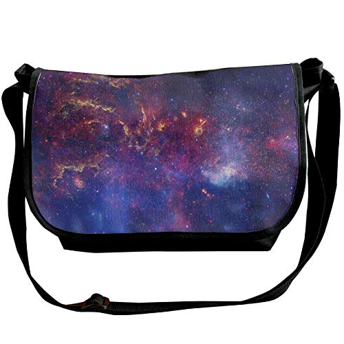 Sling Galaxy Fashion Satchel Handbags Nebula Bag Unisex Space Black Bags Casual xO7Xq5wxZc