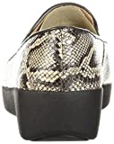 FitFlop Women's Superskate Sneaker, Taupe Snake, 5
