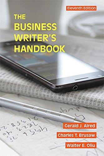 145767551X - The Business Writer's Handbook