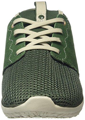 Merrell Getaway Lace - Zapatillas para hombre Verde (Dark Green/Light Grey Meshdark Green/Light Grey Mesh)