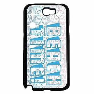 Beach Time TPU RUBBER SILICONE Phone Case Back Cover Samsung Galaxy Note II 2 N7100