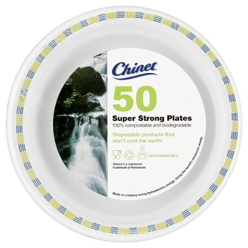 Chinet 50 Round Super Strong Plates 17cm