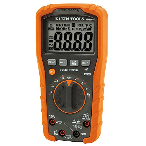 Digital Multimeter, Auto-Ranging, 1000V Klein Tools MM600 from Klein Tools