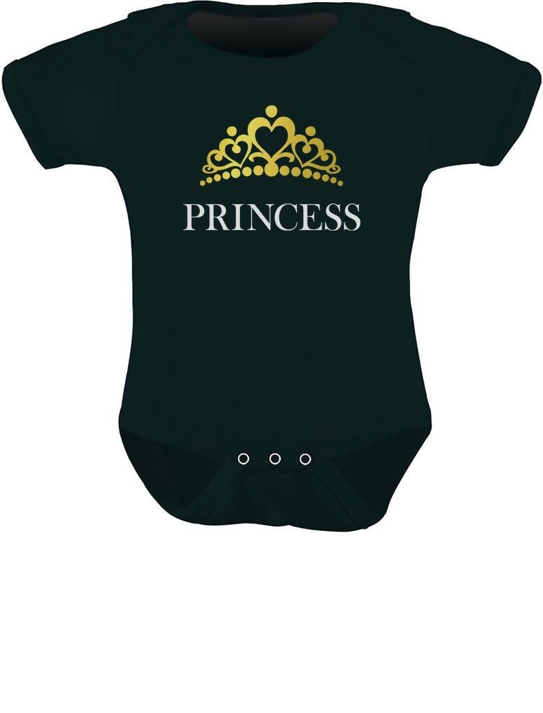 TeeStars – Princess Crown Gift for Baby Girl Baby Sister Infant Baby Bodysuit