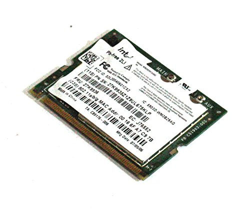Genuine IBM ThinkPad X41, X40 Laptop Modem & Wireless Network Card 802.11a/b/g Intel 2915ABG 27K9936 -