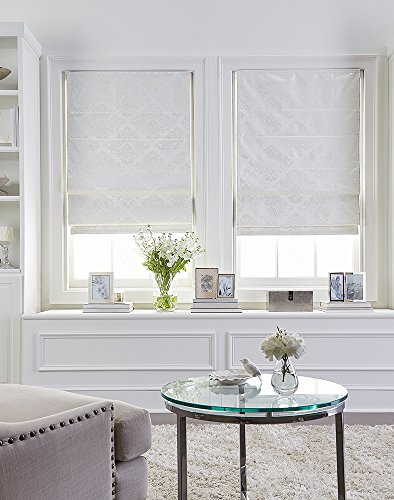 Curtainworks Damask Window Shade, 31