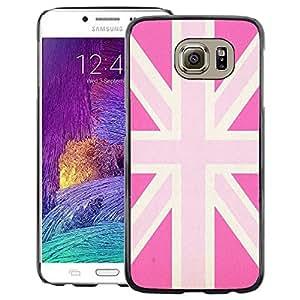 Red-Dwarf Colour Printing Uk Pink Gay Great Britain Flag Country - cáscara Funda Case Caso de plástico para Samsung Galaxy S6 SM-G920