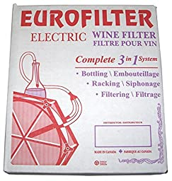 Eurofilter 3in1 Electric Eurofilter Wine Filtering System