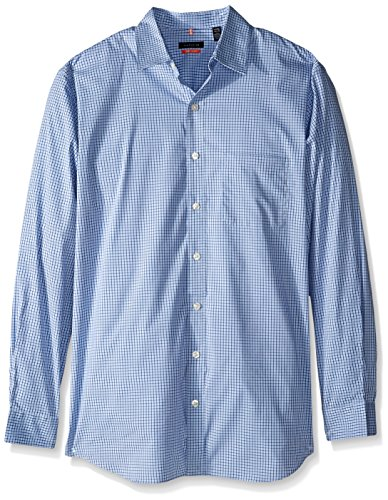 Van Heusen Men's Big and Tall Traveler Non Iron Stretch Long Sleeve Shirt, Mazarine Blue, 2X-Large Big