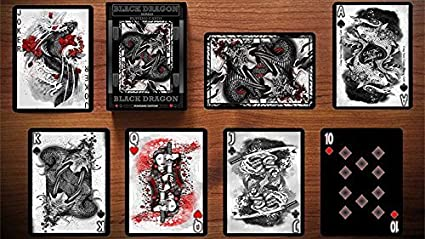 by Craig Maidment Black Dragon Series Playing Cards Standard Edition
