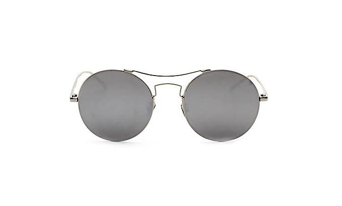 Lentes Reflectante Gafas De Sol Gafas De Sol Redondas Retro ...