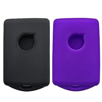 Coolbestda 2Pcs Keyless Protector Holder Case Remote Skin Accessories for 2020 2020 Volvo XC90 XC70 S60 S80 S90 C30 V70 V90 YGOHUF8423: Automotive