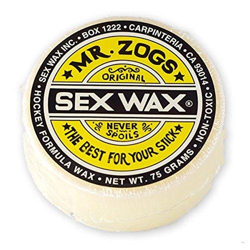 - Sex Wax Hockey Stick Wax (White/Coconut)