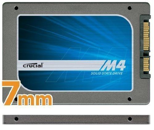 Crucial m4 512GB 2.5-Inch (7mm) SATA 6Gb/s Solid State Dr...