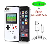iPhone X Case Game Console with Color Display, VOLMON iPhone X Gameboy Case with 36 Kinds 3D Retro Video Game, Unique Design Durable Case for iPhone X/Xs, 5.8 Inch