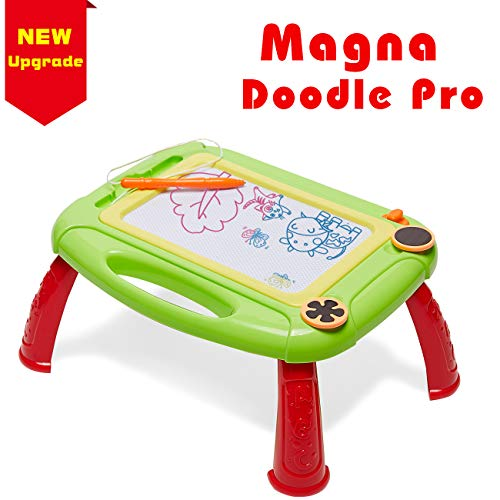 GIFT4KIDS Magnetic Doodle Board Magnetic Drawing Board Little Girl Toys for 1 2 Year Old Girls Gifts Toy for 2 Year Old Girls Toys Age 3 Toddler Girl Toys Kids Baby Girls Gifts Magnetic Painting Pad