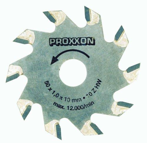 Proxxon 28016 Tungsten tipped saw blade 50mm Ø x 1.1mm (10mm bore) 10 teeth by Proxxon