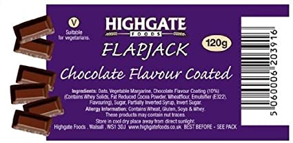 Pro Cell Flapjack Chocolate - 3600 gr